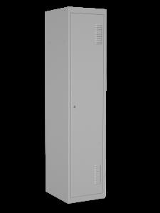 Шкаф одежный одинарный с перегородкой, размер 1800х400х500