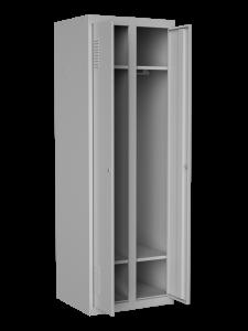 Шкаф одежный двойной c нижней полкой, размер 1800х600х500