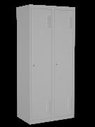 Шкаф одежный двойной с перегородкой, размер 1800х800х500