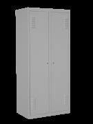 SHO-1Шкаф одежный двойноП4  нижней полкой, размер 1800х800х500